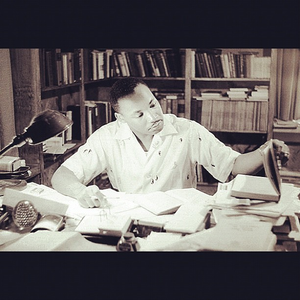 MLK In Study